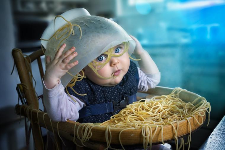 Spaghetti für Kinder
