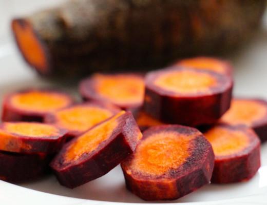 Rezept: Nudeln und Urkarotten