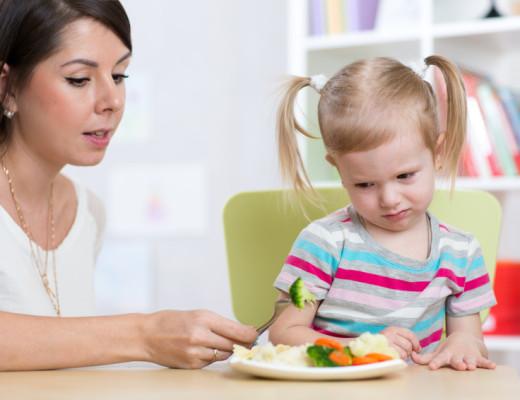 Gemüse für Kleinkinder