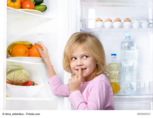 Lagerung im Kühlschrank