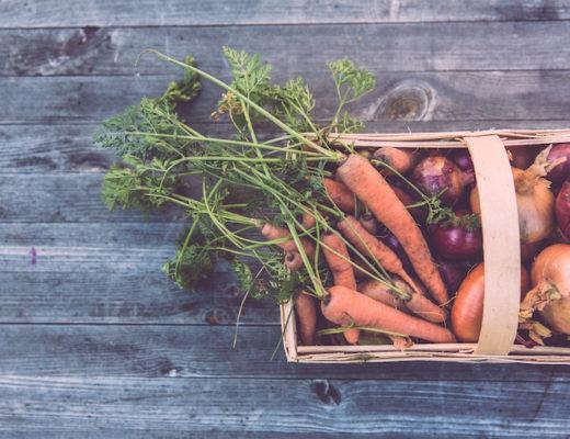 Obst und Gemüse im Winter