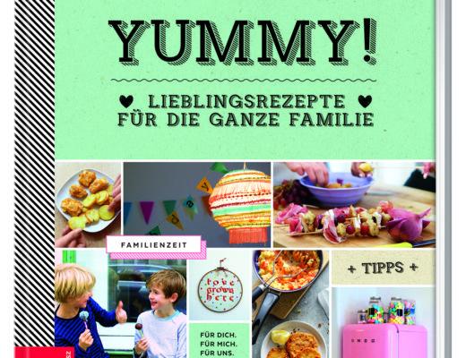 Cover Kochbuch Yummy! von Susanne Klug