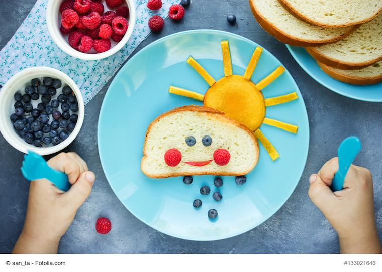 Kreative Snacks für Kleinkinder