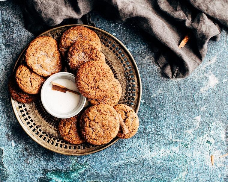 Kekse auf einem Teller