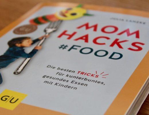 Das Cover des Buches Mom Hacks Food von GU