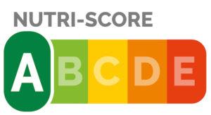 Nutri-Score Grafik mit Skala von A bis D